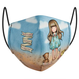 MASQUE RÉUTILISABLE HELLO SUMMER GORJUSS 10/12 ANS