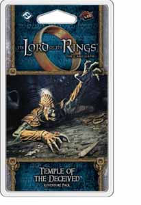 LORD OF THE RINGS TEMPLE OF THE DECEIVED ADVENTURE PACK (ANGLAIS)
