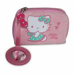 Porte monnaie Hello Kitty Rose