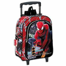 TROLLEY SPIDERMAN AMAZING TRAFFIC 36CM