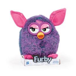 Peluche Furby soft noire 20cm
