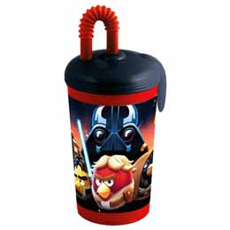 Verre paille Angry Birds Star Wars
