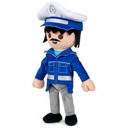 PELUCHE PLAYMOBIL POLICIER 33CM