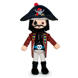 PELUCHE PLAYMOBIL PIRATE 31 CM