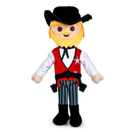 PELUCHE PLAYMOBIL SHERIFF 32 CM