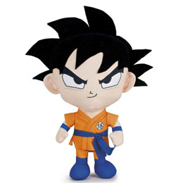 PELUCHE DRAGON BALL Z GOKU BLACK HAIR 25 CM