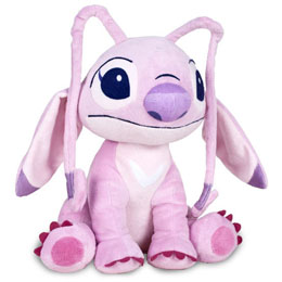 PELUCHE ANGEL STITCH DISNEY DOUCE 27CM