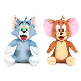 PELUCHE TOM & JERRY 28CM