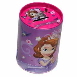 Tirelire métallique Princesse Sofia Disney