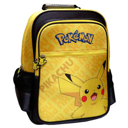 SAC À DOS PIKACHU POKEMON ADAPTABLE 41CM