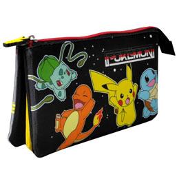 Trousse Pokemon triple