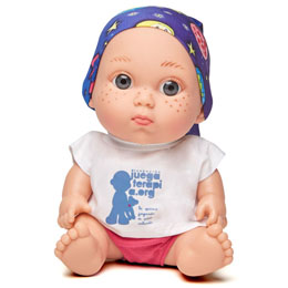 POUPÉE BABY PELON PAULA ECHEVARRIA
