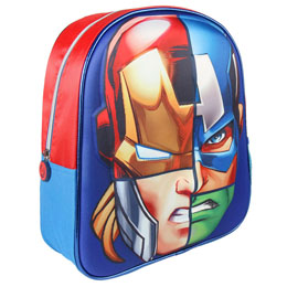SAC A DOS 3D THE AVENGERS MARVEL 31 CM