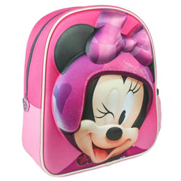 SAC A DOS 3D MINNIE ROADSTER DISNEY 31 CM