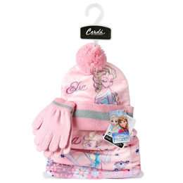 Photo du produit ENSEMBLE HIVER BONNET GANT ECHARPE DISNEY LA REINE DES NEIGES Photo 1
