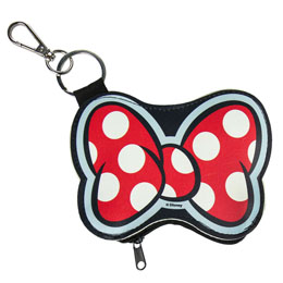 Photo du produit PORTE MONNAIE PORTE CLÉ DISNEY MINNIE NOEUD Photo 2