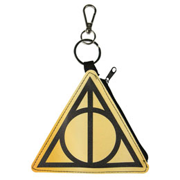 Photo du produit PORTE MONNAIE PORTE CLÉ DEATHLY HALLOWS HARRY POTTER Photo 1