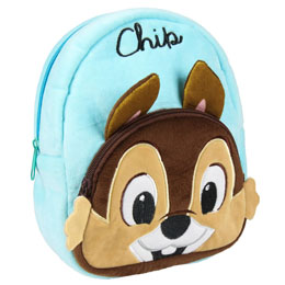 SAC À DOS PELUCHE CHIP AND DALE DISNEY 22CM