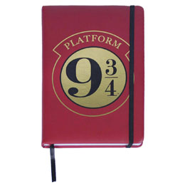 HARRY POTTER CARNET DE NOTES PREMIUM A5 PLATFORM 9 3/4