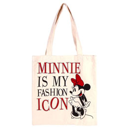 SAC SHOPPING EN TISSU DISNEY MINNIE