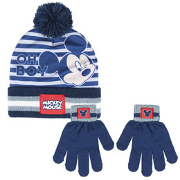 ENSEMBLE DISNEY MICKEY GANTS ET BONNET