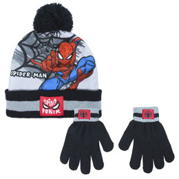 ENSEMBLE MARVEL SPIDERMAN GANTS ET BONNET