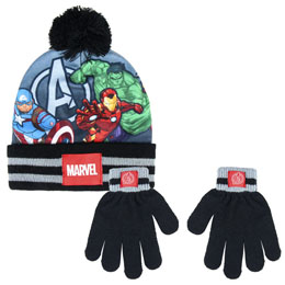 ENSEMBLE MARVEL THE AVENGERS GANTS ET BONNET