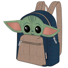 SAC À DOS YODA CHILD THE MANDALORIAN STAR WARS 22CM