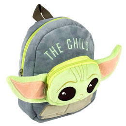 SAC À DOS PELUCHE YODA CHILD THE MANDALORIAN STAR WARS 22CM