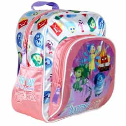 SAC A DOS INSIDE OUT DISNEY AVEC POCHE