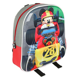 SAC A DOS 3D MICKEY ROADSTER 31 CM