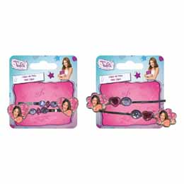 Lot de 2 barrettes à cheveux Disney Violetta
