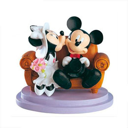 FIGURINE DISNEY MICKEY ET MINNIE ASSIENT