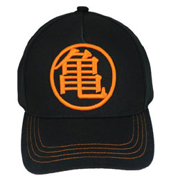 CASQUETTE KAME DRAGON BALL NOIRE ORANGE