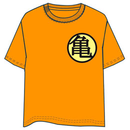 T-SHIRT DRAGON BALL ORANGE