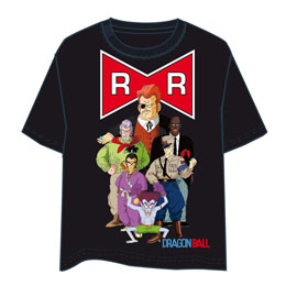 T-SHIRT DRAGON BALL RUBAN ROUGE