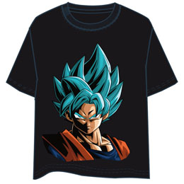 T-SHIRT DRAGON BALL SON GOKU SUPER SAIYAN BLUE