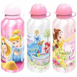 Photo du produit Gourde Disney Princesses en aluminium