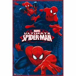 Couverture polaire Spiderman Marvel Action