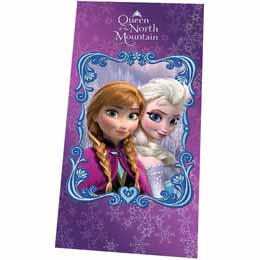 Serviette de bain Disney La reine des neiges Queen