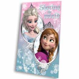 COUVERTURE POLAIRE DISNEY LA REINE DES NEIGES SHARING THE WORLD