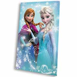 Photo du produit COUVERTURE POLAIRE DISNEY LA REINE DES NEIGES