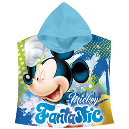 PONCHO SERVIETTE MICKEY DISNEY FANTASTIC