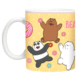 MUG WE BARE BEARS JAUNE