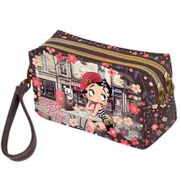 TROUSSE DE TOILETTE BETTY BOOP CAFE PARIS