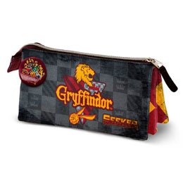 TROUSSE TRIPLE HARRY POTTER QUIDDITCH GRYFFINDOR