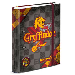 PORTE DOCUMENTS AGENDA HARRY POTTER QUIDDITCH GRYFFONDOR