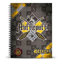 CARNET A5 HARRY POTTER QUIDDITCH HUFFLEPUFF