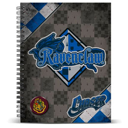CARNET A5 HARRY POTTER QUIDDITCH RAVENCLAW