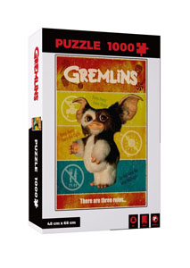 PUZZLE MOVIE GREMLINS PUZZLE THERE ARE THREE RULES 1000 PIECES